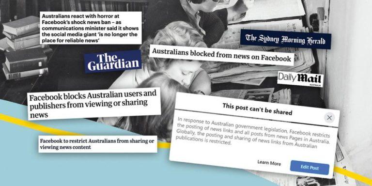 En Australia, medios adventistas se ven impactados en la pelea entre Facebook y el gobierno