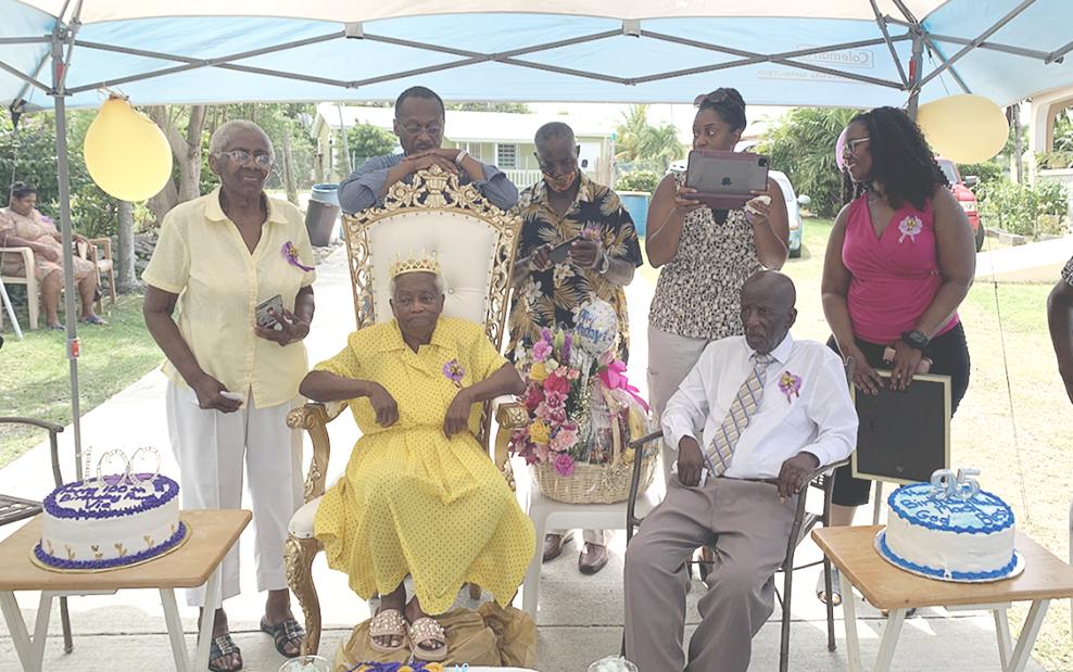 Adventistas celebran la vida de miembro centenaria.